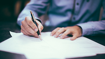 Making an employment contract