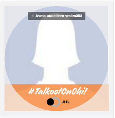 Talkoot on ohi! Facebook -kansikuva